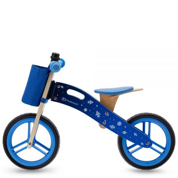 Drveni bicikl bez pedala Kinderkraft Runner plavi