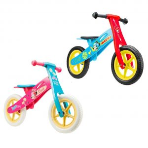 Drveni bicikl guralica
