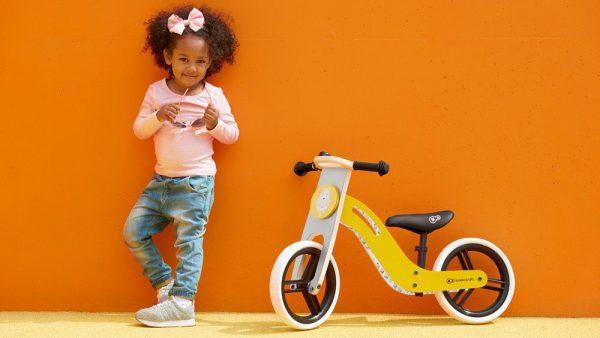 Drveni bicikl guralica Kinderkraft Uniq