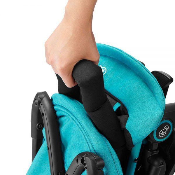 Kišobran kolica Kinderkraft Mini Dot ručka za nošenje