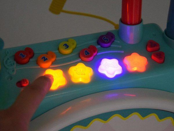 Moji prvi bubnjevi svjetlosni efekti