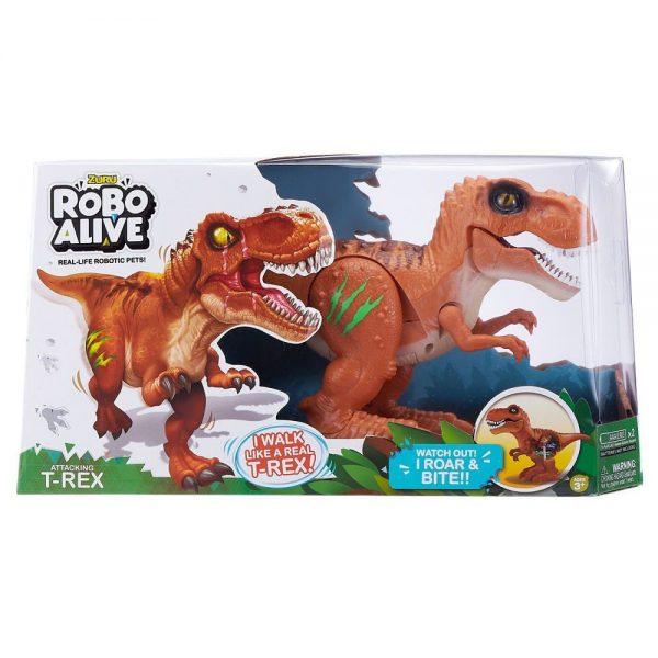 Robo Alive T-Rex dinosaur pakiranje