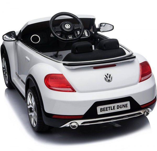 VW Buba dječji auto na akumulator unutrašnjost