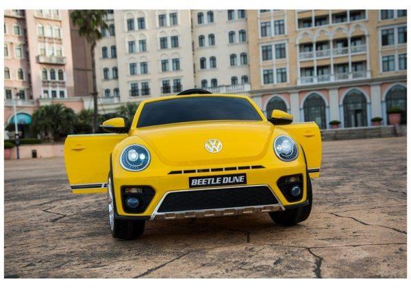 Auto na akumulator VW Buba žuta