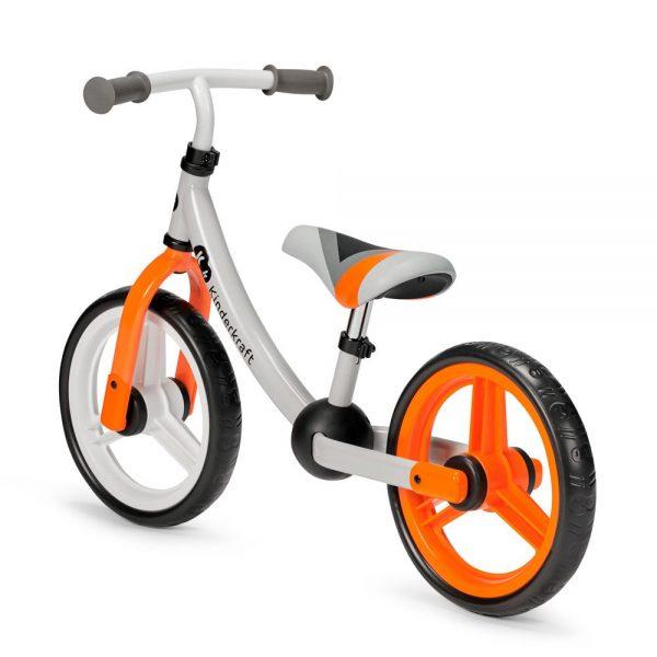 Bicikl bez pedala Kinderkraft 2Way narancasti