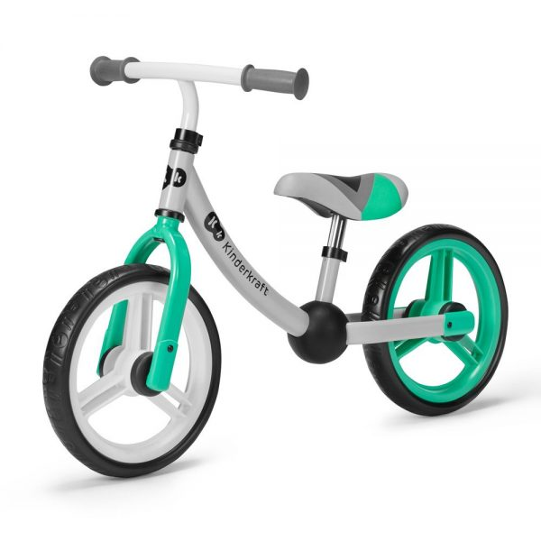 Bicikl bez pedala Kinderkraft 2Way Next zeleni