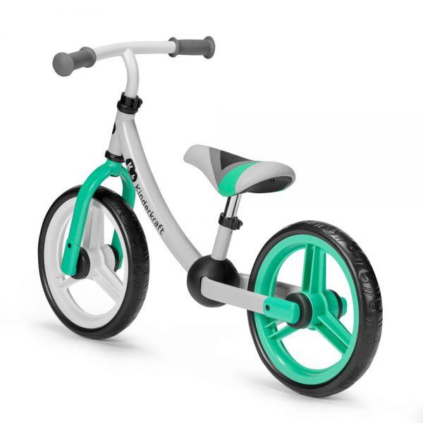 Bicikl bez pedala Kinderkraft 2Way zeleni