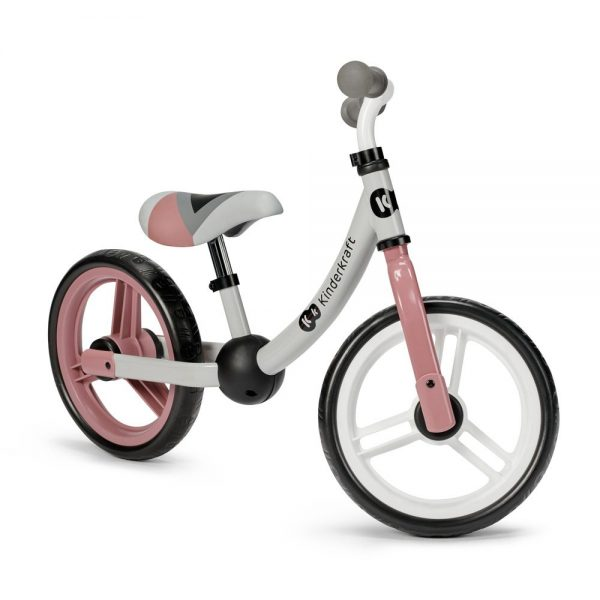 Bicikl guralica Kinderkraft 2Way Next rozi