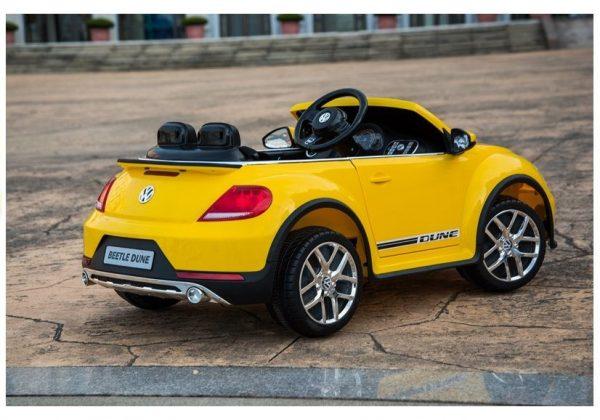 Dječji auto na akumulator VW Beetle žuta