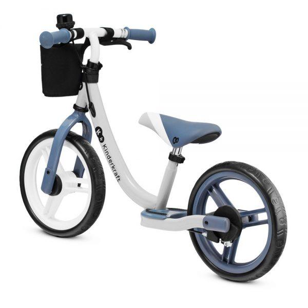 Dječji bicikl bez pedala Kinderkraft Space plavi