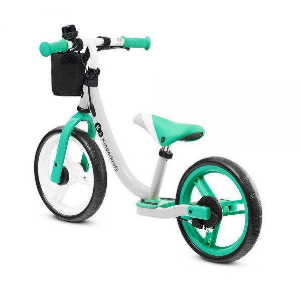 Dječji bicikl bez pedala Kinderkraft Space zeleni