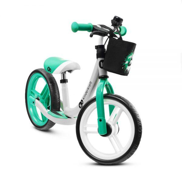 Dječji bicikl guralica Kinderkraft Space zeleni
