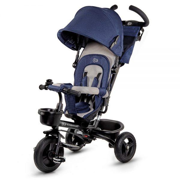 Dječji tricikl Kinderkraft Aveo plavi