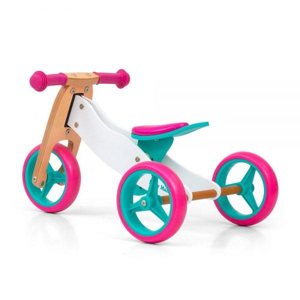 Drveni bicikl 2 u 1 Milly Mally Jake Candy