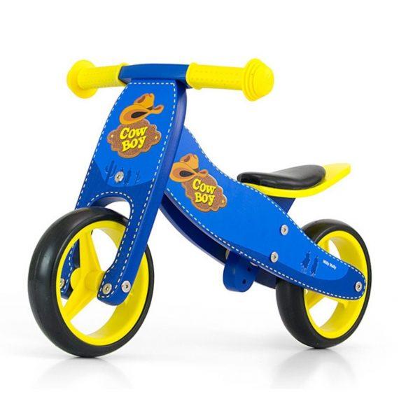 Drveni bicikl 2 u 1 Milly Mally Jake Cowboy