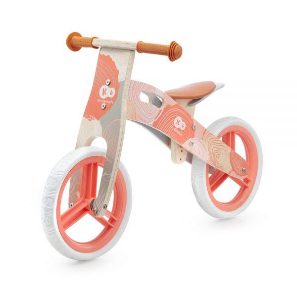 Drveni bicikl bez pedala Kinderkraft Runner coral