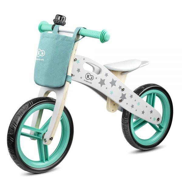 Drveni bicikl bez pedala Kinderkraft Runner Zvjezdice