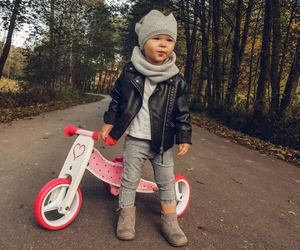 Drveni tricikl Milly Mally Jake Srce