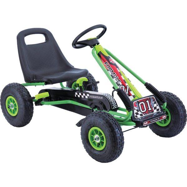 Formula na pedale zelena