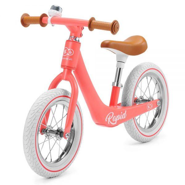 Bicikl bez pedala Kinderkraft Rapid coral