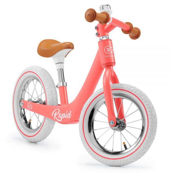 Bicikl bez pedala Kinderkraft Rapid ružičasti