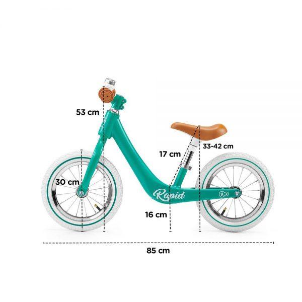 Bicikl Kinderkraft Rapid dimenzije
