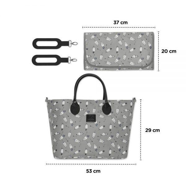 Dječja kolica 3 u 1 Kinderkraft XMoov torba