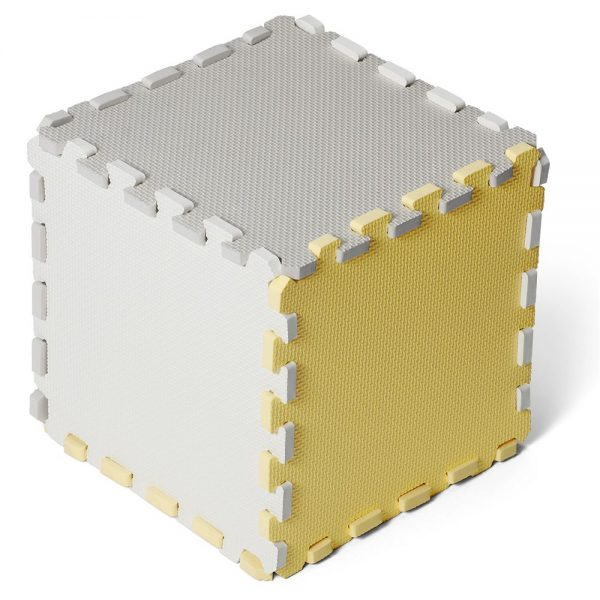 Kinderkraft pjenaste puzzle Luno žute
