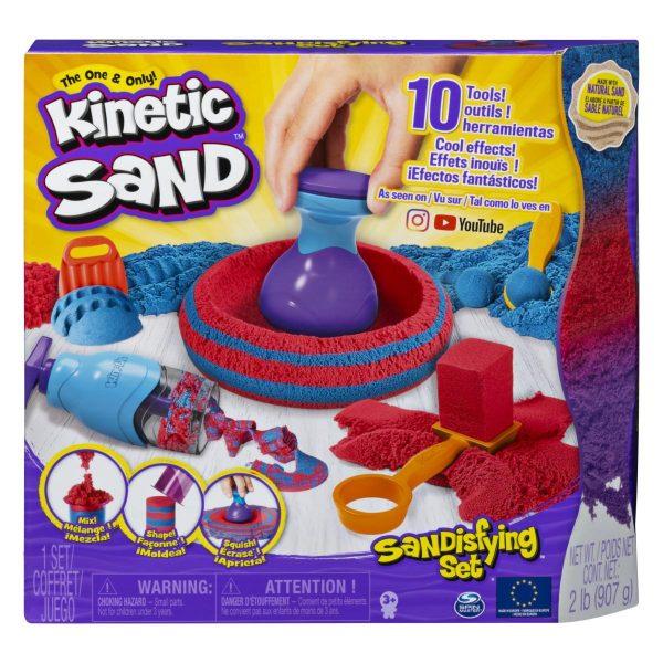 Kinetički pijesak s dodacima za oblikovanje