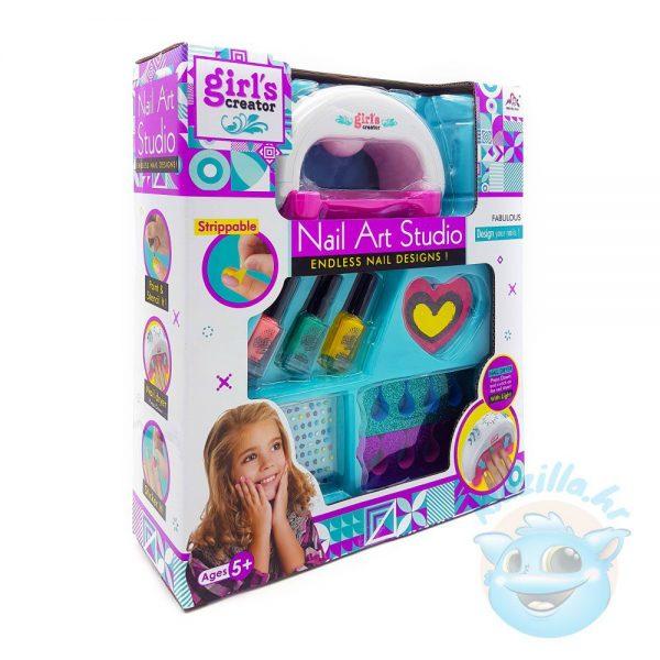 Dječji set za lakiranje noktiju Girls Creator