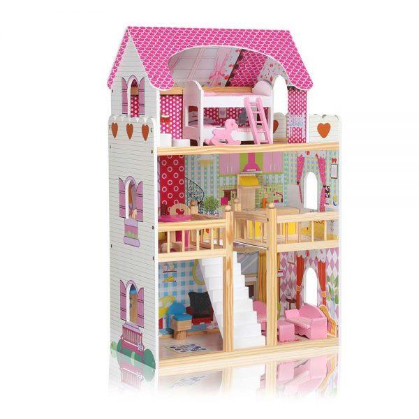 Dječja kućica za lutke sa svjetlom