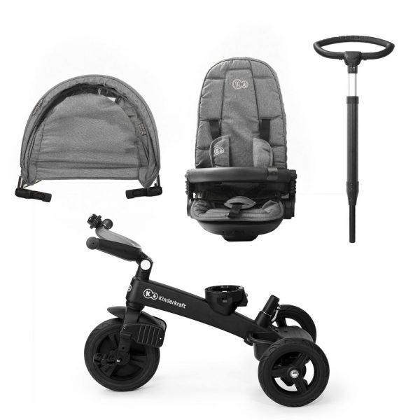Dječji tricikl Kinderkraft EasyTwist dijelovi