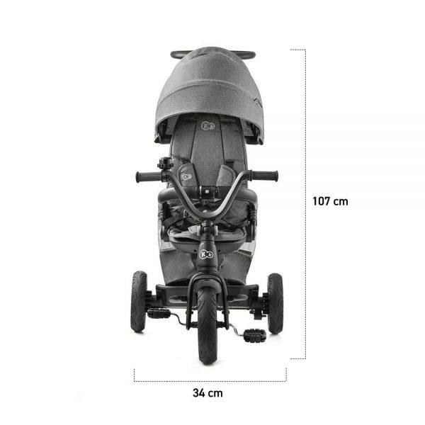 Dječji tricikl Kinderkraft EasyTwist dimenzije