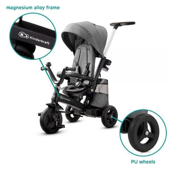 Dječji tricikl Kinderkraft EasyTwist kotač