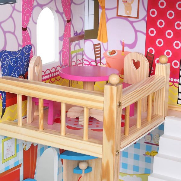 Kućica za lutke sa svjetlom blagovaonica