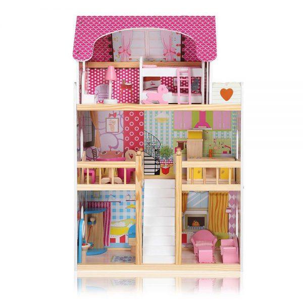 Kućica za lutke sa svjetlom cijela