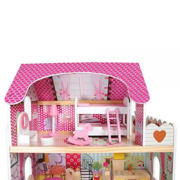 Kućica za lutke sa svjetlom kreveti