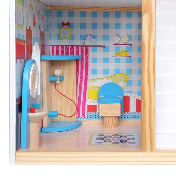 Kućica za lutke sa svjetlom kupaonica