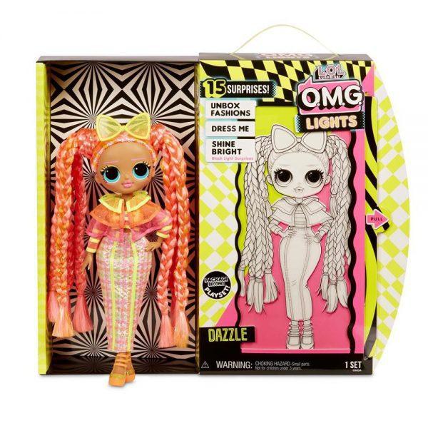 LOL Surprise OMG Lights modna lutka Dazzle