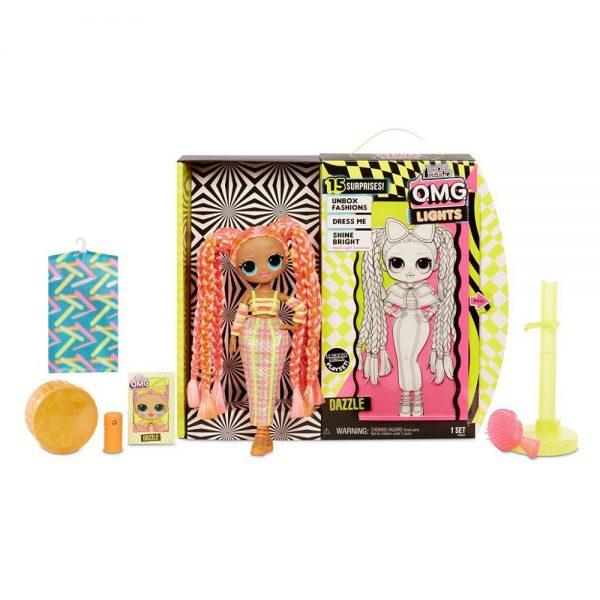 LOL Surprise OMG Lights modna lutka Dazzle dodaci