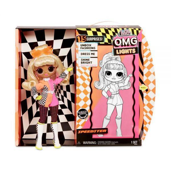 LOL Surprise OMG Lights modna lutka Speedster