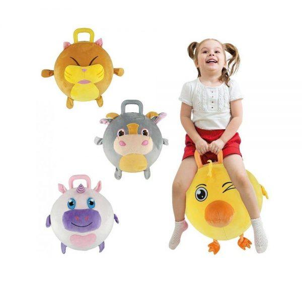Splash Toys plišana lopta za skakanje