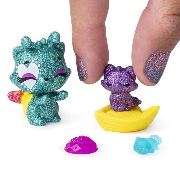Figurice Hatchimals Pet Obsessed 3 kom