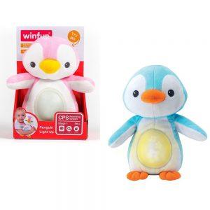 Glazbeni pingvin sa svjetlom Winfun