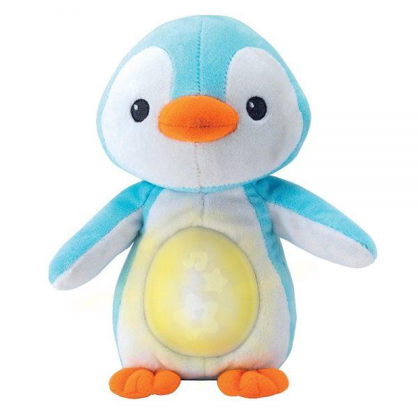 Glazbeni pingvin sa svjetlom Winfun plavi