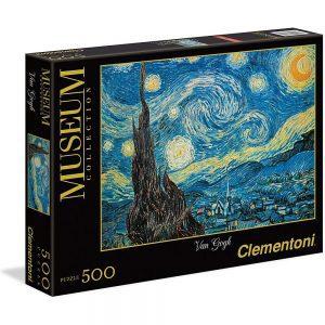 Puzzle Clementoni Museum Van Gogh Zvjezdana noć