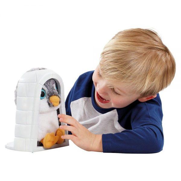Plišana igračka za djecu Animagic pingvin Peri