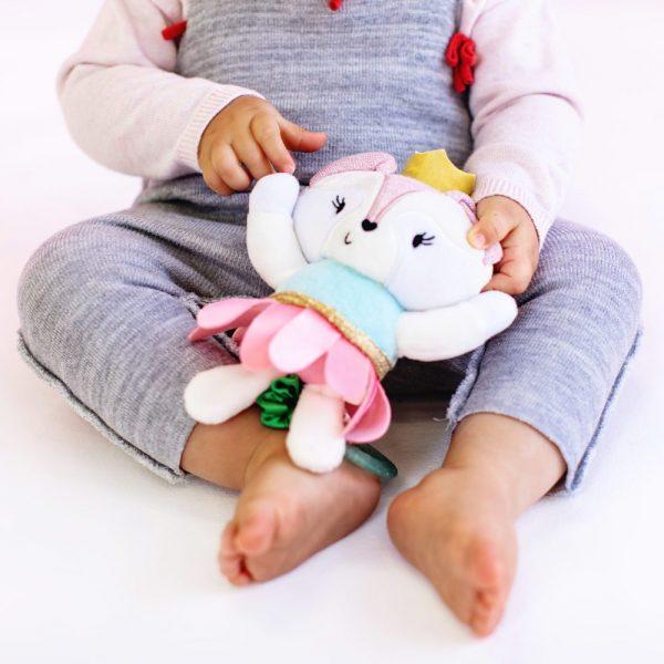 Bright Stars rotirajuća viseća igračka za djecu Balerina