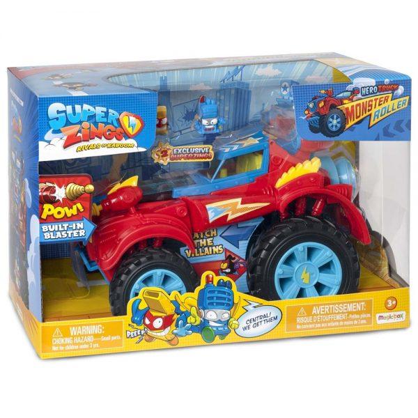 Super Zings Monster Hero vozilo