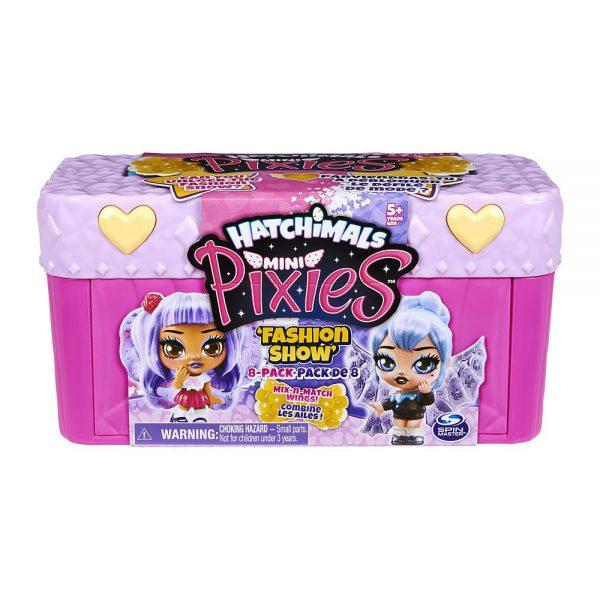 Hatchimals Mini Pixies Fashion Show set za igru ružičasti